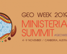 GEO-XVI Plenary and Ministerial Summit 2019