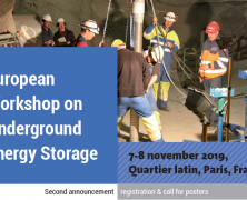 European Workshop on Underground Energy Storage