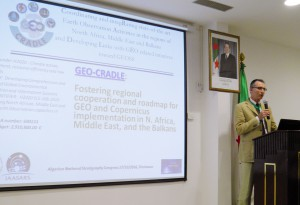 Mr Luca Demicheli, Secretary General of EuroGeoSurveys