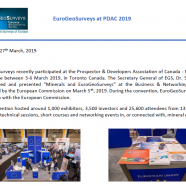 EGS Participation to PDAC